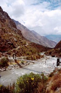 ウルバンバ渓谷とインカ道