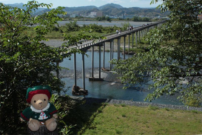 蓬莱橋を見下ろす・140517