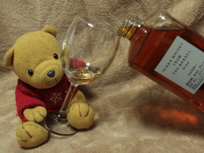 NIKKA WHISKY FROM THE BARREL 注ぐ