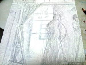 習作、素描