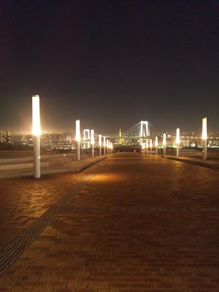 お台場の夜景2012-2