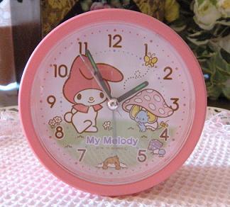 マイメロ時計