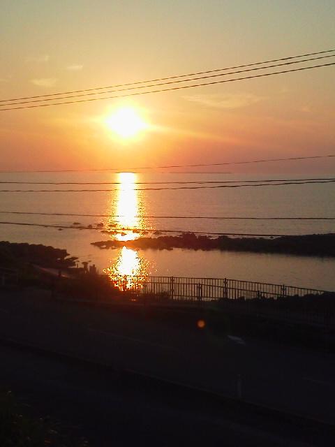 日本海夕日