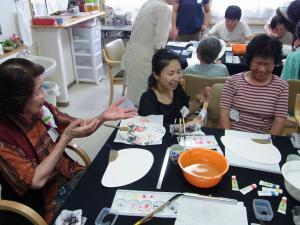 201208 夏季水墨画ボランティア 08