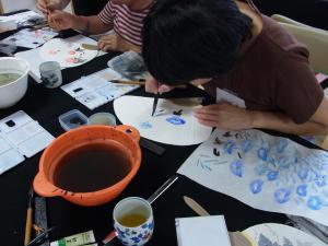201208 夏季水墨画ボランティア 10