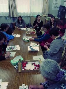 201204 春の水墨画ボランティア 1日目 pm03