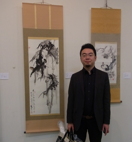 2012日中水墨展 嵐酔先生の竹