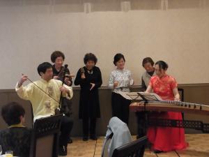 2012日中水墨展 演奏