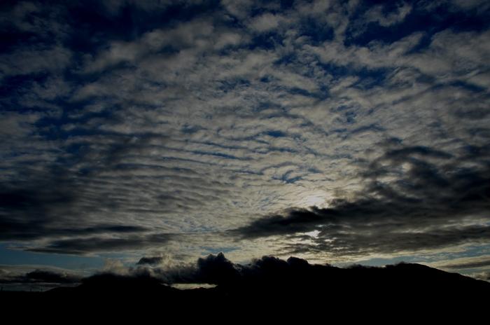 雨上がり 雲-2