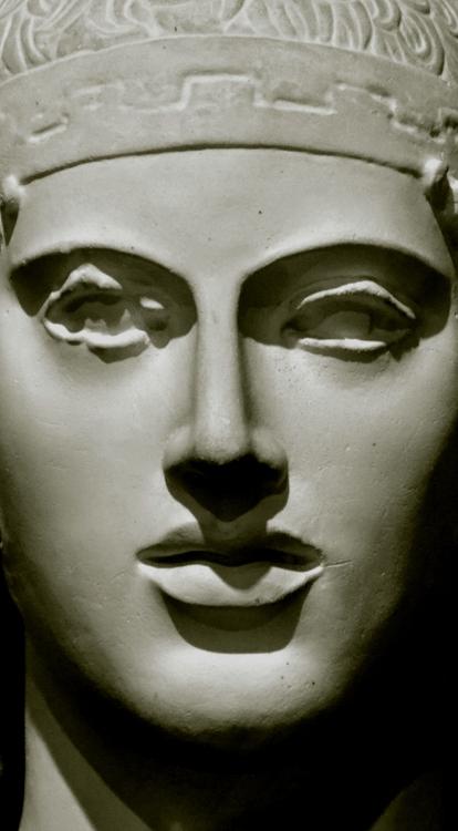 石膏像 御者のマスク-1