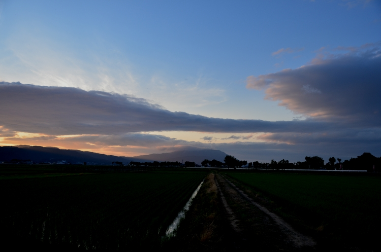 今日の夕陽 その3