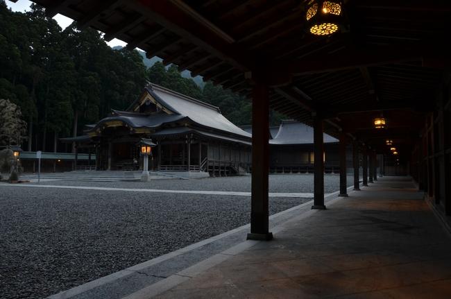神社 夕闇-4