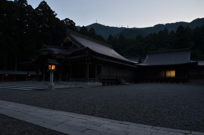 神社 夕闇-5