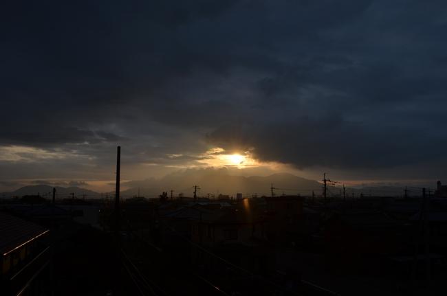 今日の夕陽-4