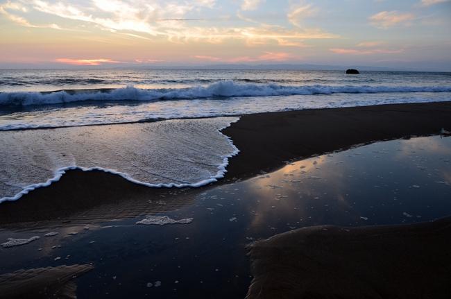 夕陽 海-1