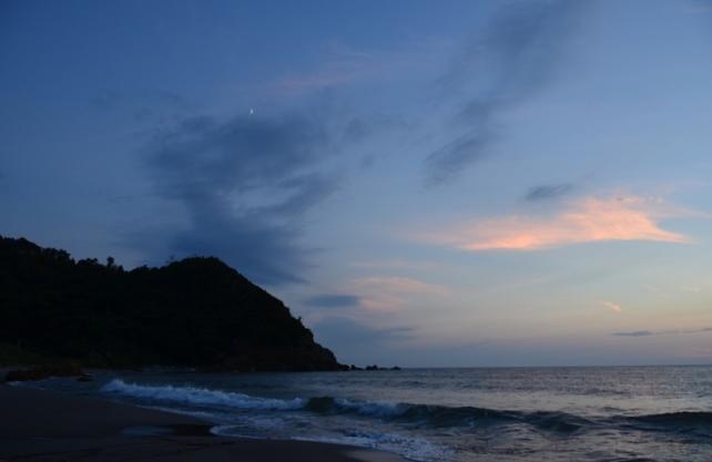 夕陽 海-4