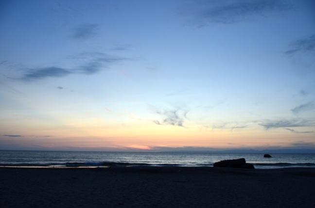 夕陽 海-5