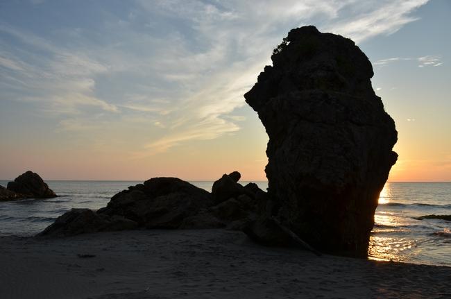 夕陽 海-Ⅰ