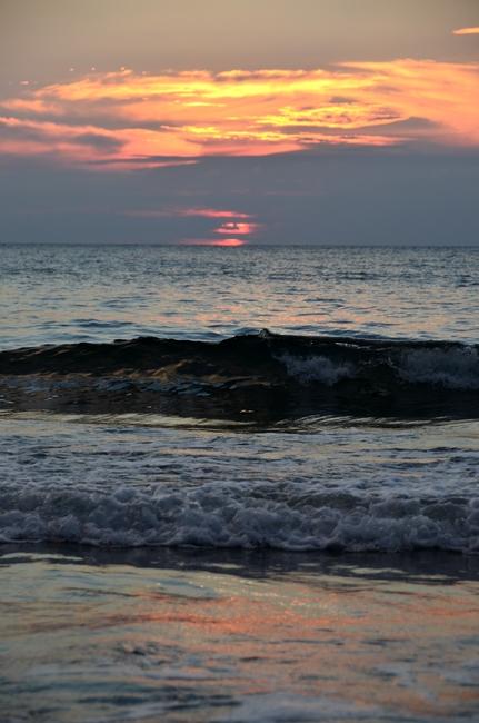 夕陽 海-Ⅲ