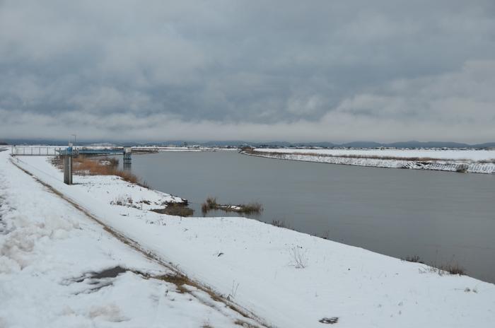 冬の河-3