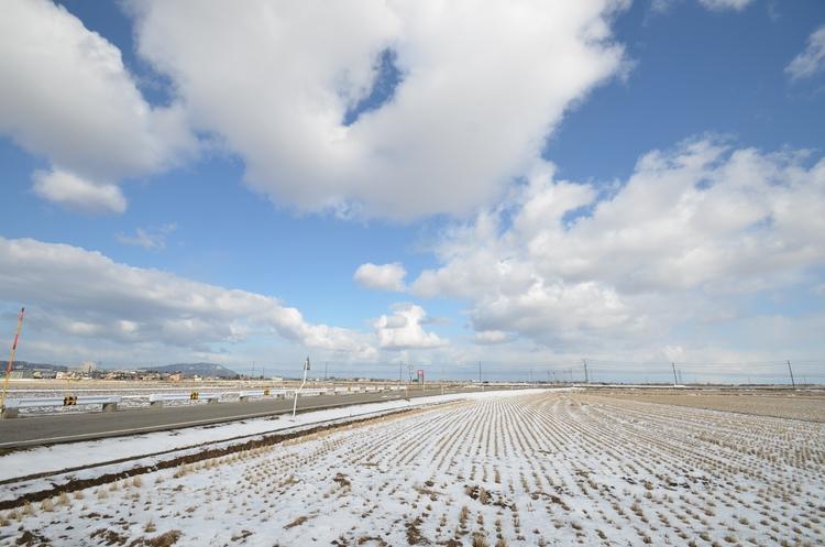雪景色 晴れ-1
