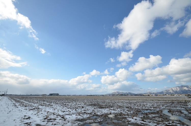 雪景色 晴れ-3