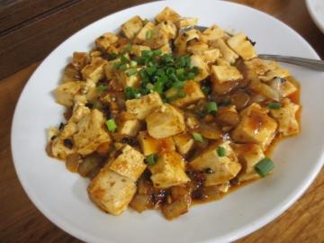 麻婆豆腐 600円