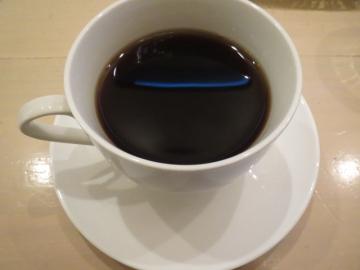 ドリンクセット+315円。ホットコーヒーにしました