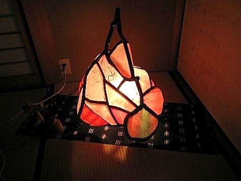 和紙灯り 022-001
