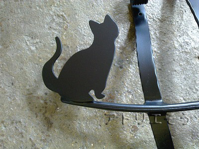 オリジナル妻飾りCタイプ+猫