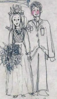 イラスト結婚式