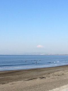 晴天鵠沼サーフィン