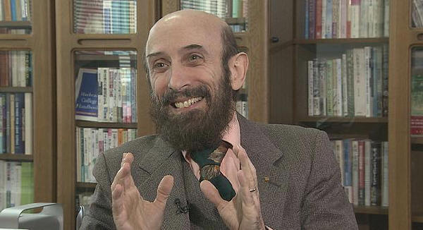 カール ベッカー教授(NHKより)