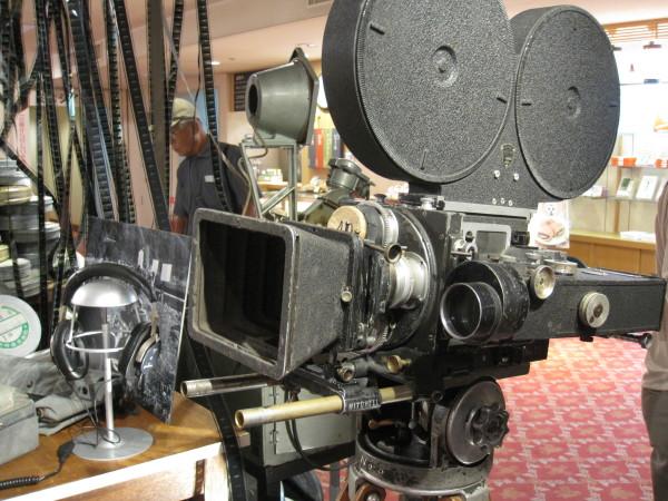 当時の撮影カメラ