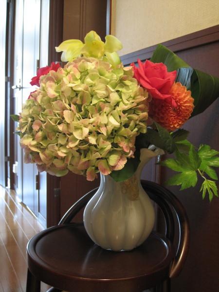 Nさんからの花束