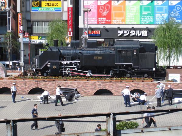 新橋駅前鉄道広場