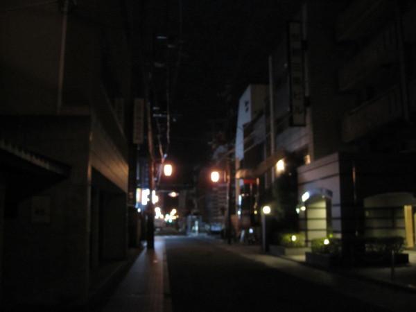 明け方6時の街並み