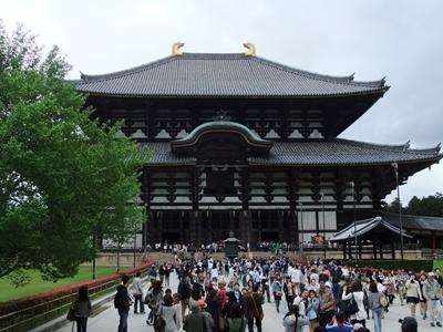 新緑と東大寺