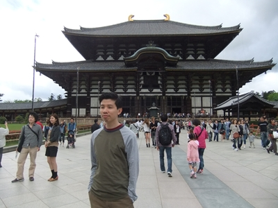 東大寺とジョー
