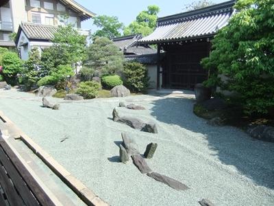 観智院のお庭