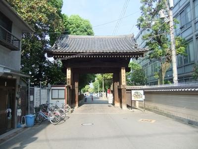 四天王寺の門