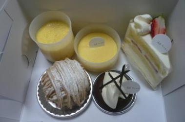 本物のケーキ1