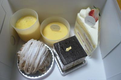 本物のケーキ2