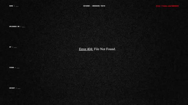Error404 File Not Found