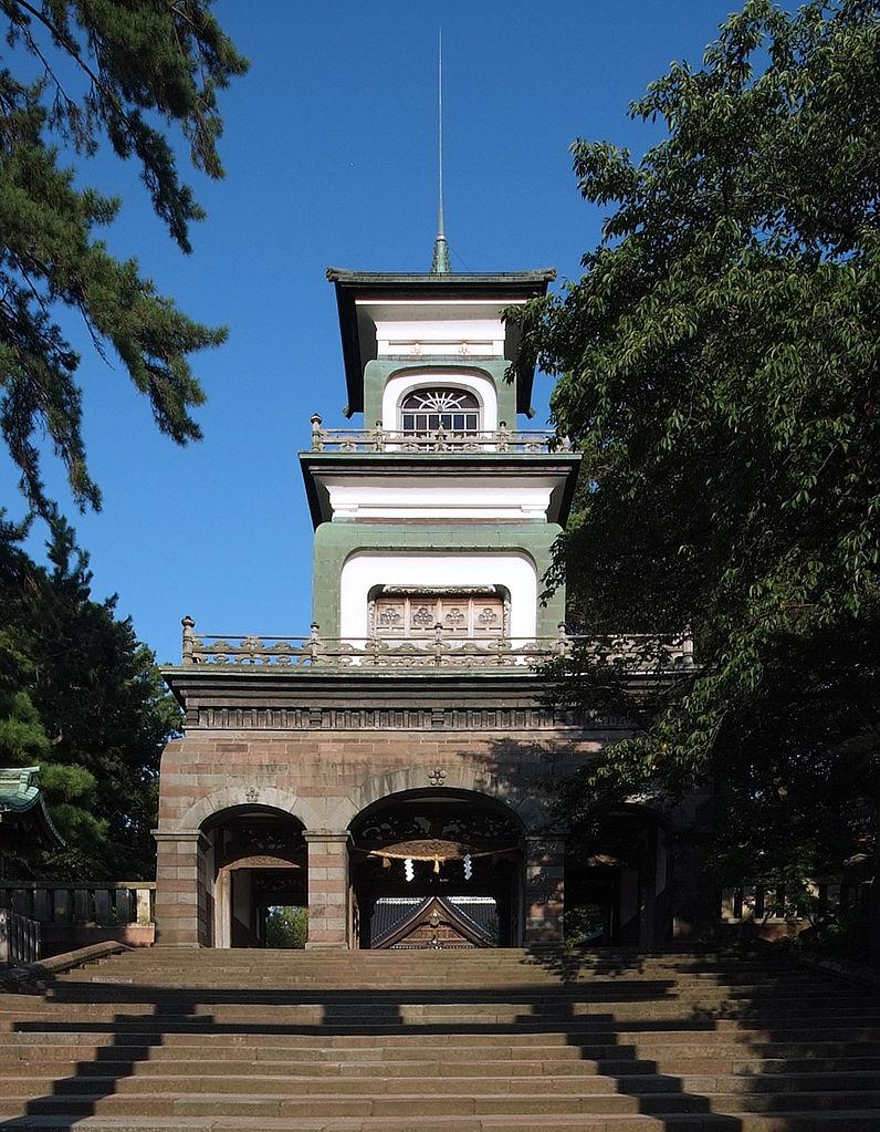 尾山神社_神門