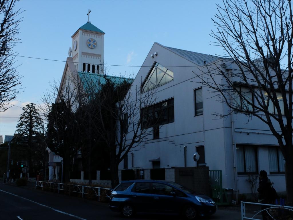 カトリック碑文谷教会(通称サレジオ教会)の聖堂