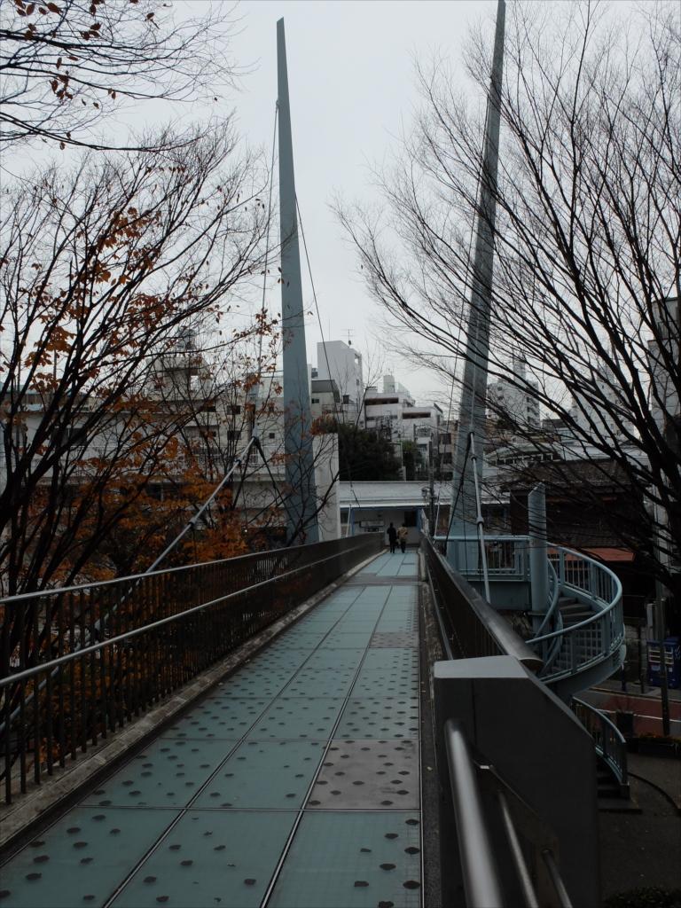 代官山駅に連絡する歩道橋_2
