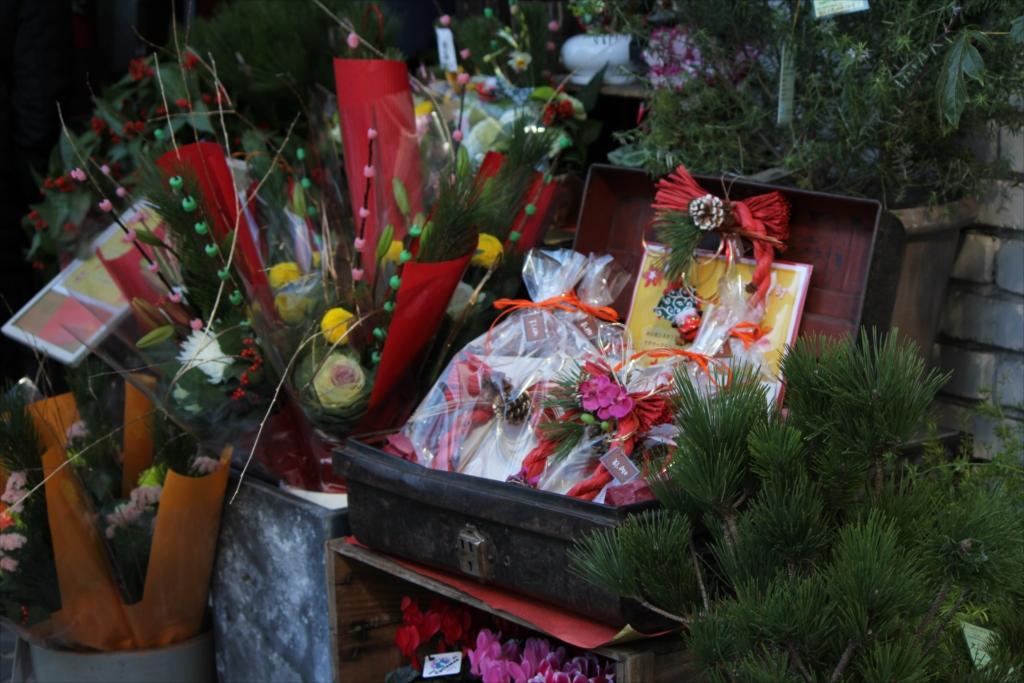 お花屋さんの店先_2