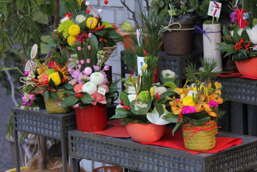 お花屋さんの店先_3