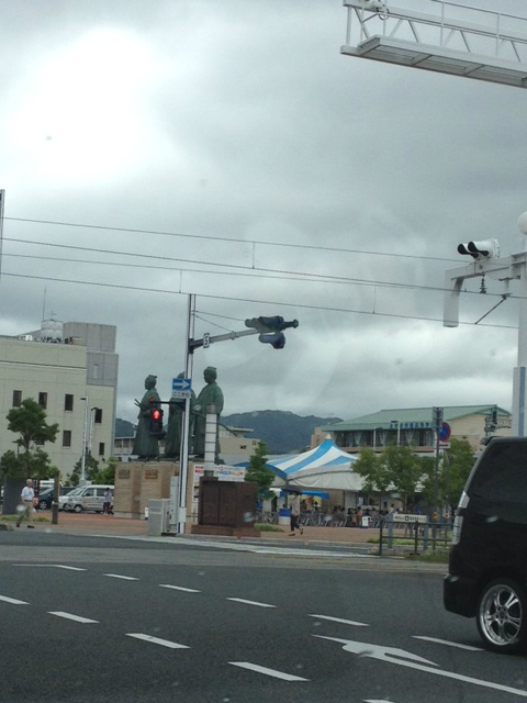 高知駅前。